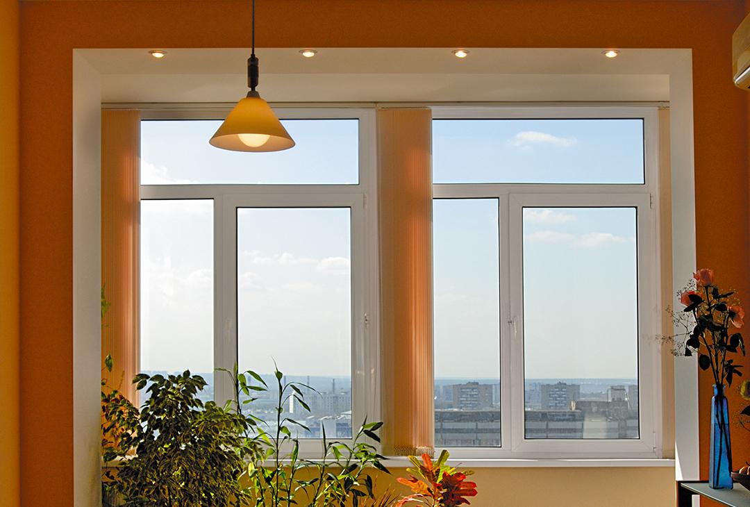"""Окна в квартирах строительная фирма """"ареал""""."""